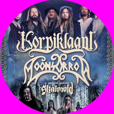 KorpiklaaniFIN & MoonsorrowFIN   06.11.2016