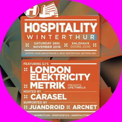 Hospitality   26.11.2016